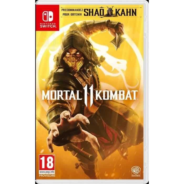 Switch - Mortal Kombat 11