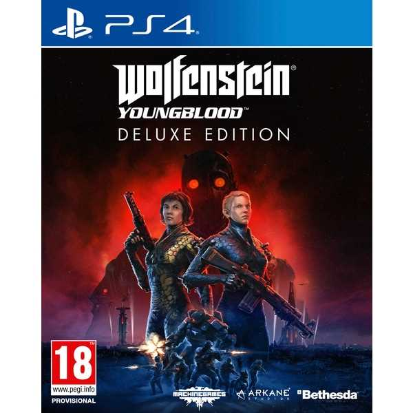 PS4 - Wolfenstein: Youngblood Deluxe הזמנה מוקדמת!