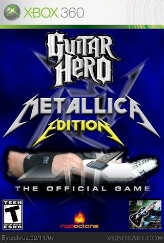 XBOX 360 - Guitar Hero  Metallica