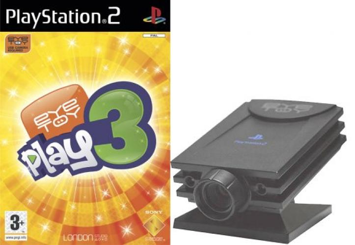 PS2 -  EYE TOY PLAY 3 and CAMERA