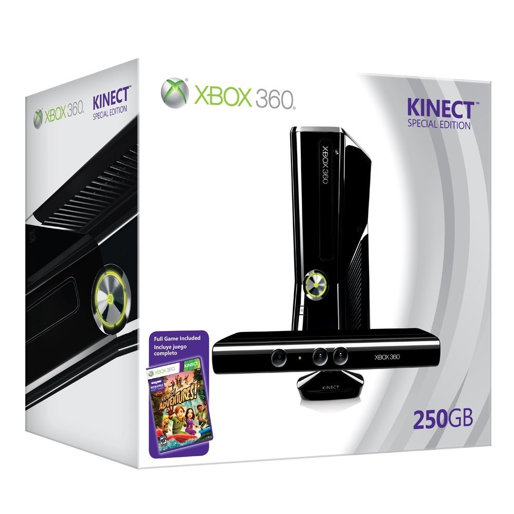 NEW XBOX 360 250 GIGA PAL + KINECT מוסב LT+3.0