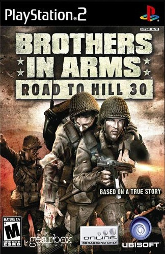 PS2 - Brothers In Arms  Road To Hill
