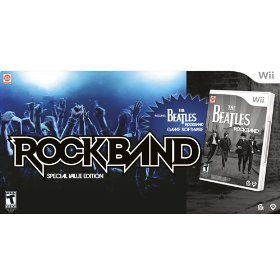 Wii - Rock Band The Beatles Value Edition