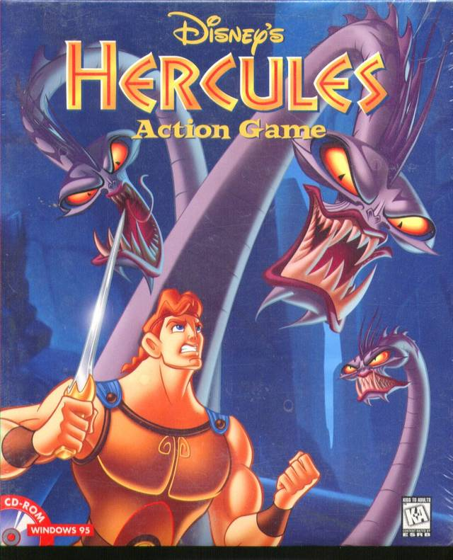 PC - Disney's Hercules Action Game