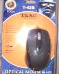 Teac Optical Mouse T-42B 800dpi BLACK
