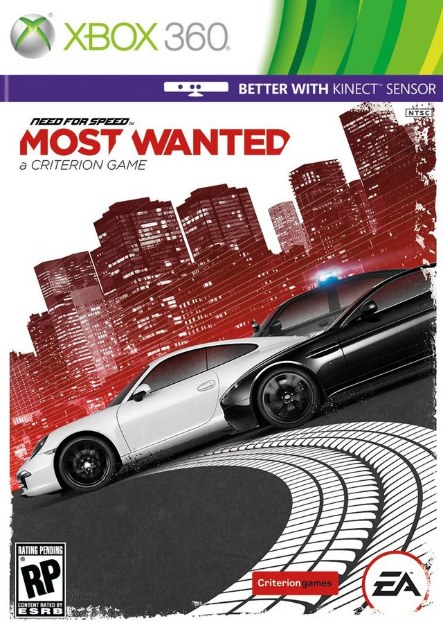 XBOX 360 - Need for Speed Most Wanted