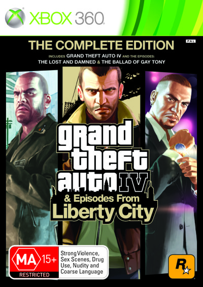 XBOX 360 - GTA IV The Complete Edition