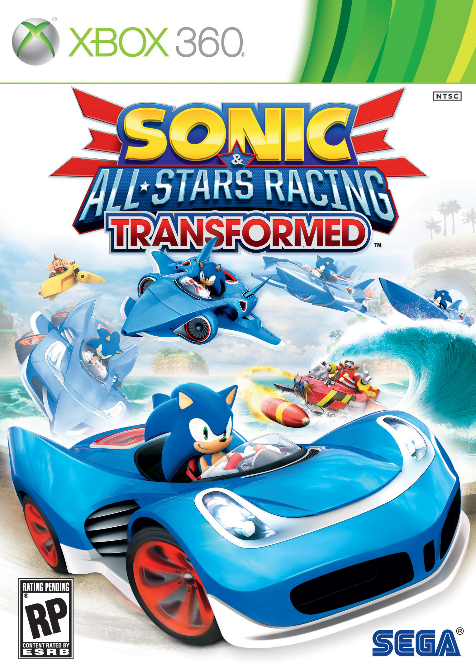 XBOX 360 - Sonic & All-Stars Racing Transformed