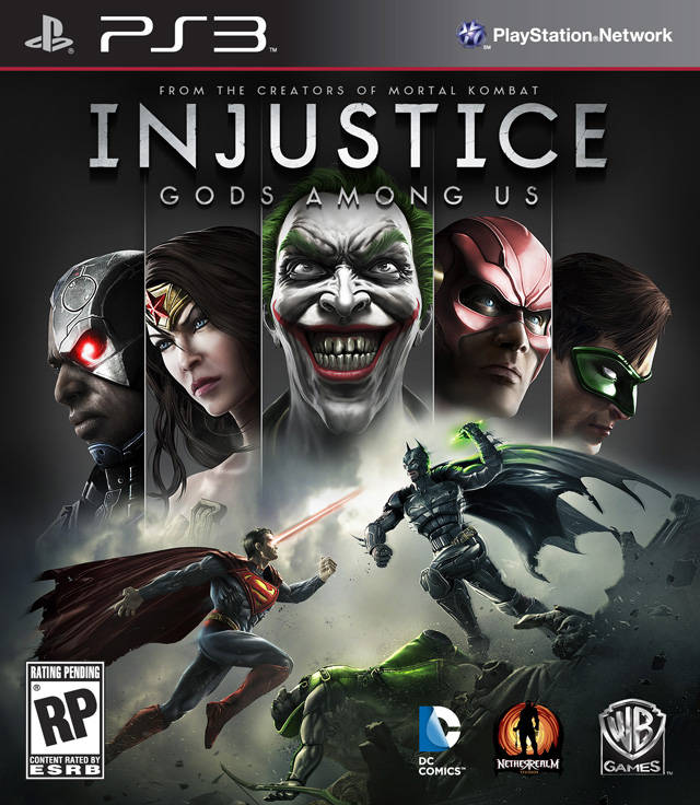 PS3 - Injustice Gods Among Us