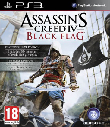 PS3 - Assassin's Creed IV Black Flag Special Edition