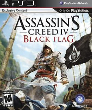 PS3 - Assassin's Creed IV Black Flag
