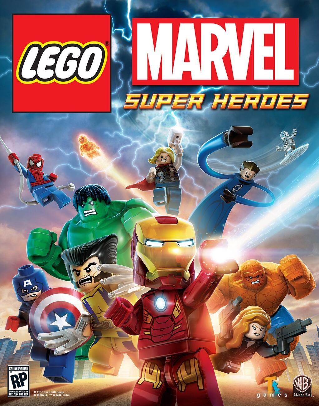 PS3 - Lego Marvel Superheroes