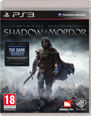 PS3 - Middle-earth: Shadow of Mordor