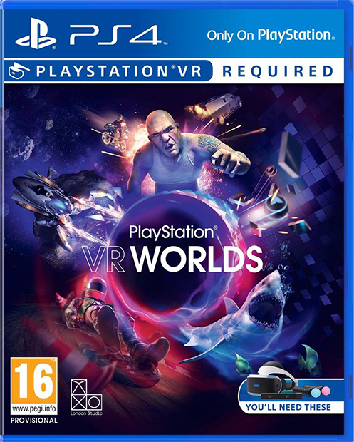 PS4 - PlayStation VR Worlds