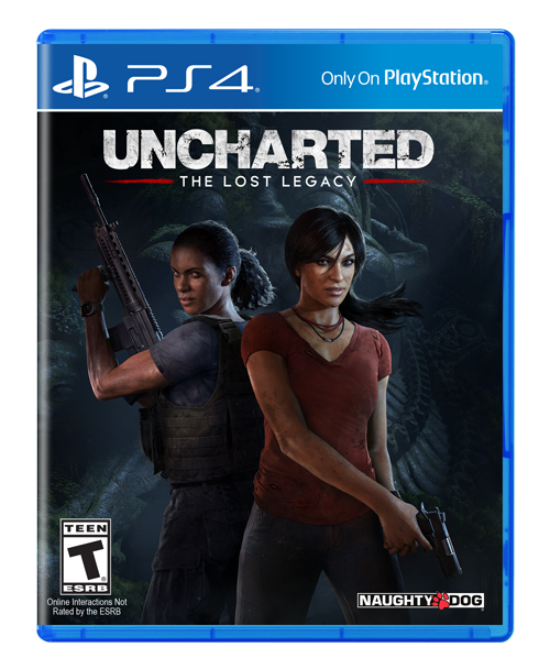 PS4 - Uncharted The Lost Legacy