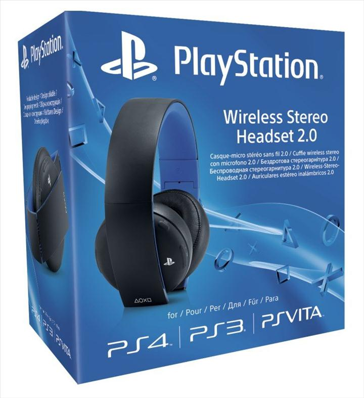 Sony Playstation Wireless Stereo Headset 2.0 Black