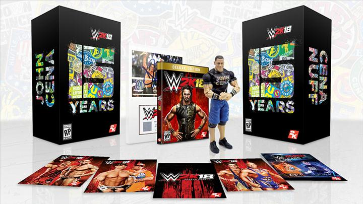 XBOX ONE - WWE 2K18 15 YEAR EDITIONֱ
