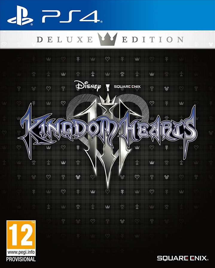 PS4 - Kingdom Hearts 3 Deluxe Edition