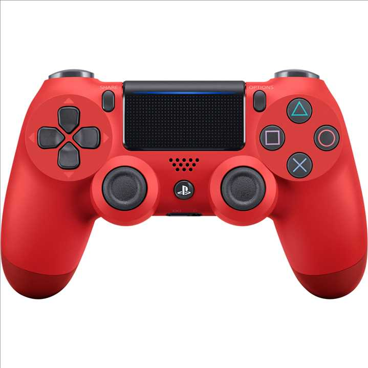 PS4 - Dual Shock 4 Controller Red שלט מקורי רוטט