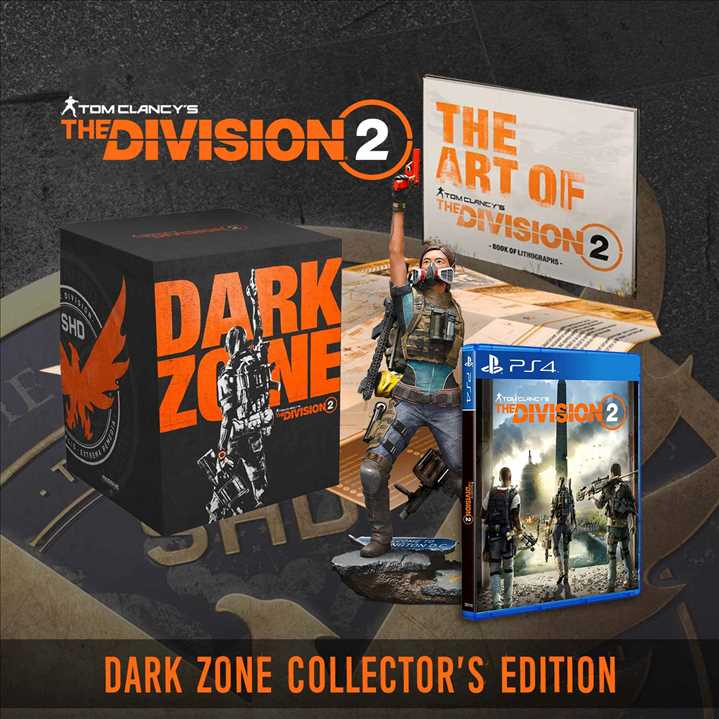 PS4 - Tom Clancy's The Division 2 Dark Zone Collector's Edition