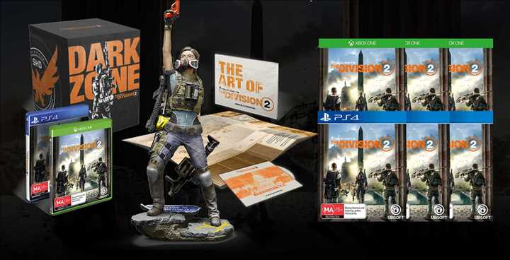 XBOX ONE - Tom Clancy's The Division 2 Dark Zone Collector's Edition