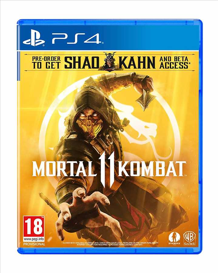 PS4 - Mortal Kombat 11
