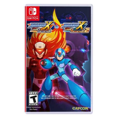 Switch - Mega Man X Legacy Collection 1 + 2