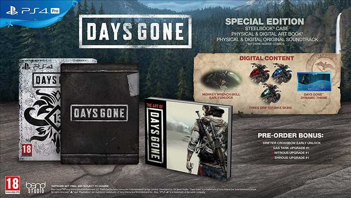 PS4 - Days Gone Special Edition