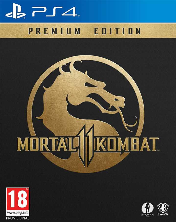 PS4 - Mortal Kombat 11 Premium Edition