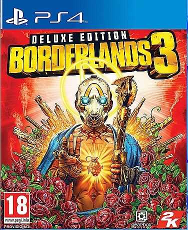 PS4 - BORDERLANDS 3 DELUXE EDITION