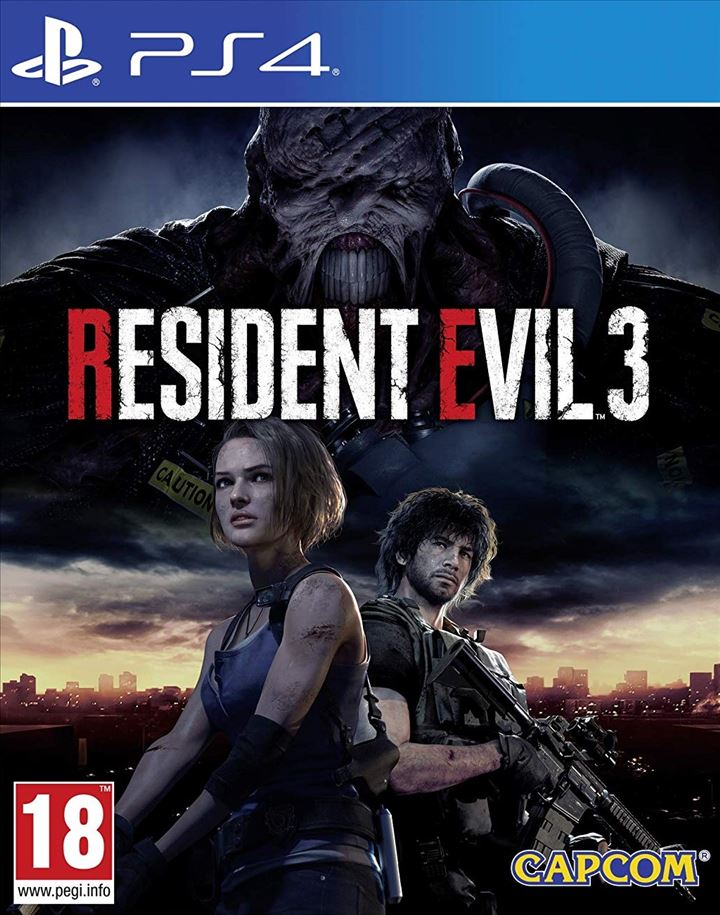PS4 - Resident Evil 3 Standard Edition