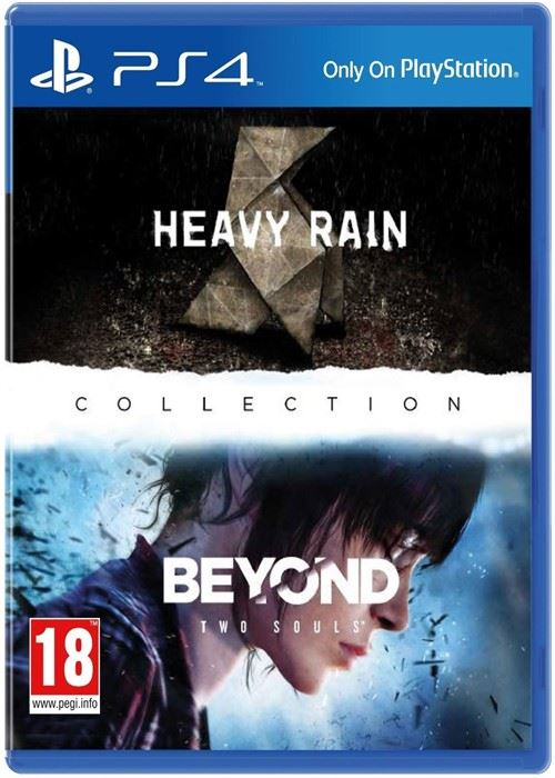 PS4 - HEAVY RAIN/BEYOND COLLECTION אזל מהמלאי