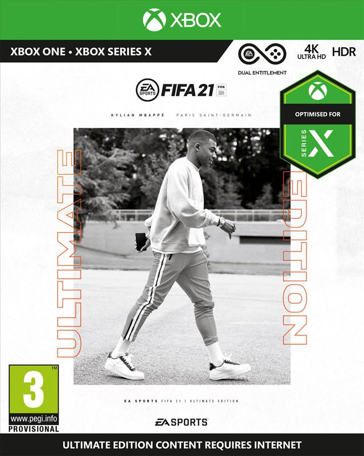 XBOX ONE - FIFA 21 ULTIMATE EDITION