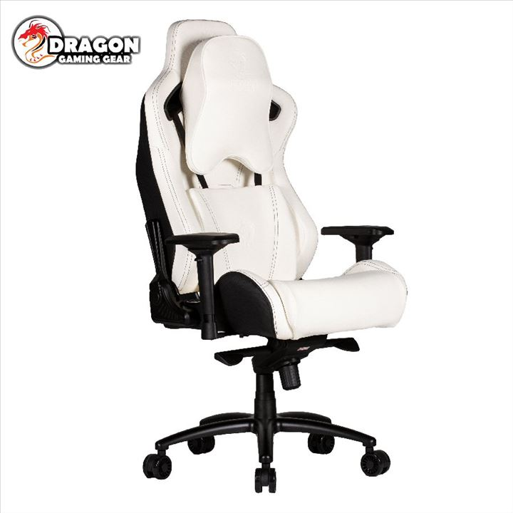 DRAGON Gaming Chair GT DLX White