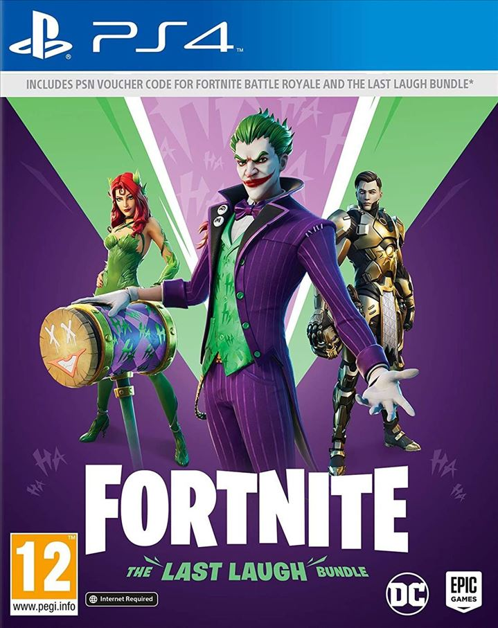 PS4 - Fortnite Last Laugh Bundle