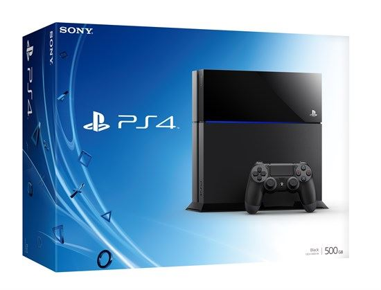 Sony Playstation 4 500GB קונסולת פליסטיישן 4 500 ג'יגה