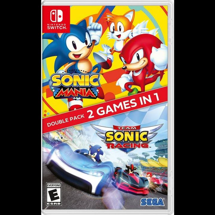 Switch - Sonic Mania/Racing double pack